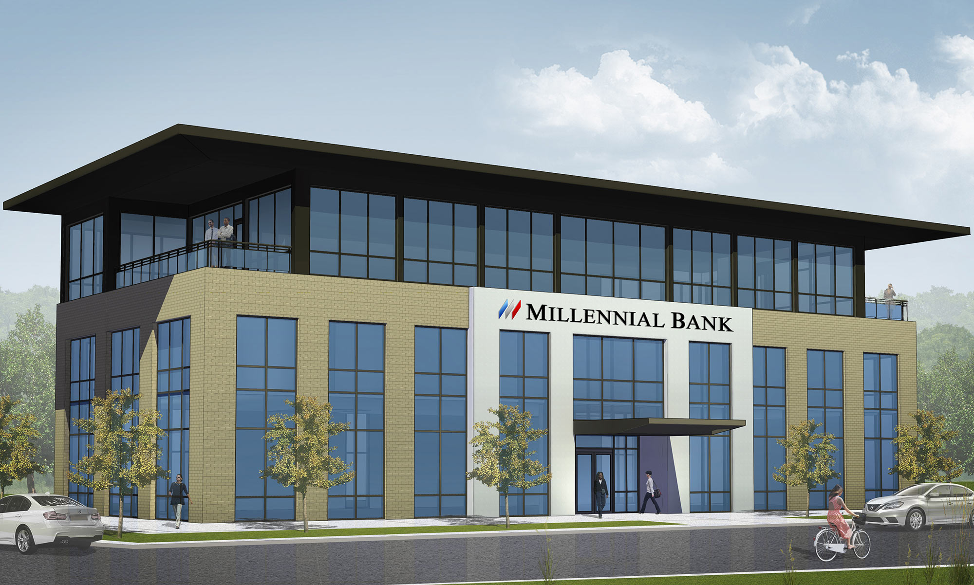 New Headquarters for Millennial Bank