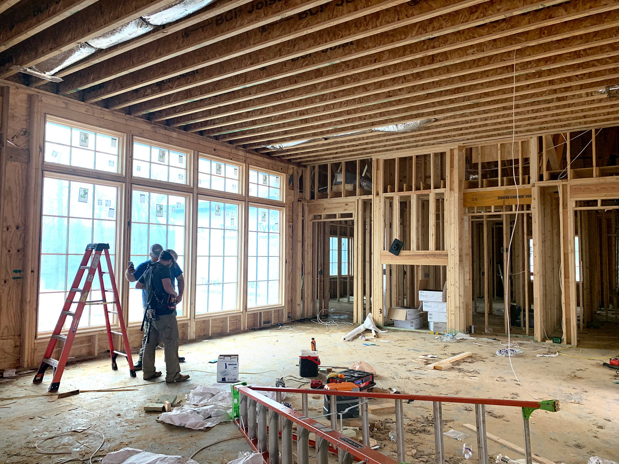 New Private Residence in Birmingham, AL under construction