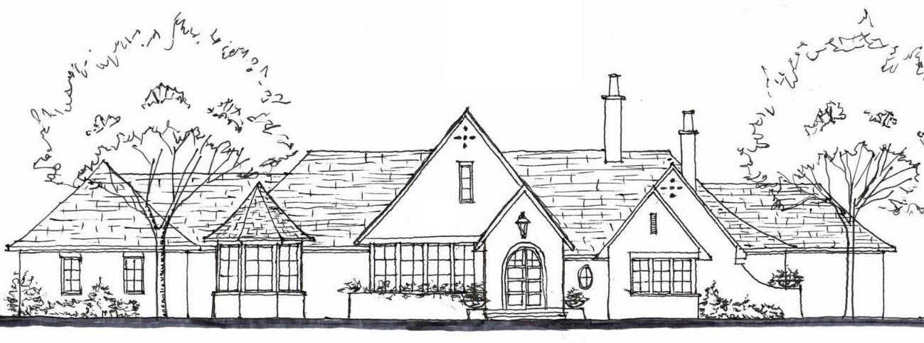 Rendering of New Birmingham, AL Private Residence