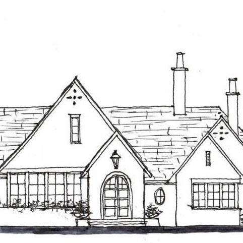 Rendering of New Private Residence in Birmingham, AL