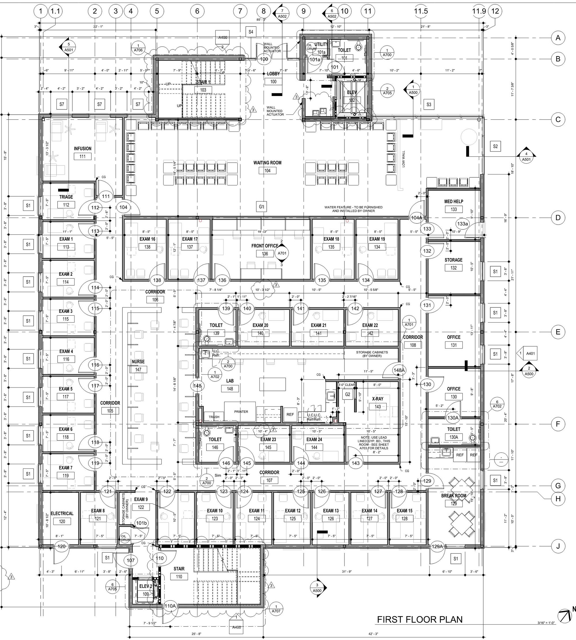 Site Plan for Total Care 280's New Medical Office